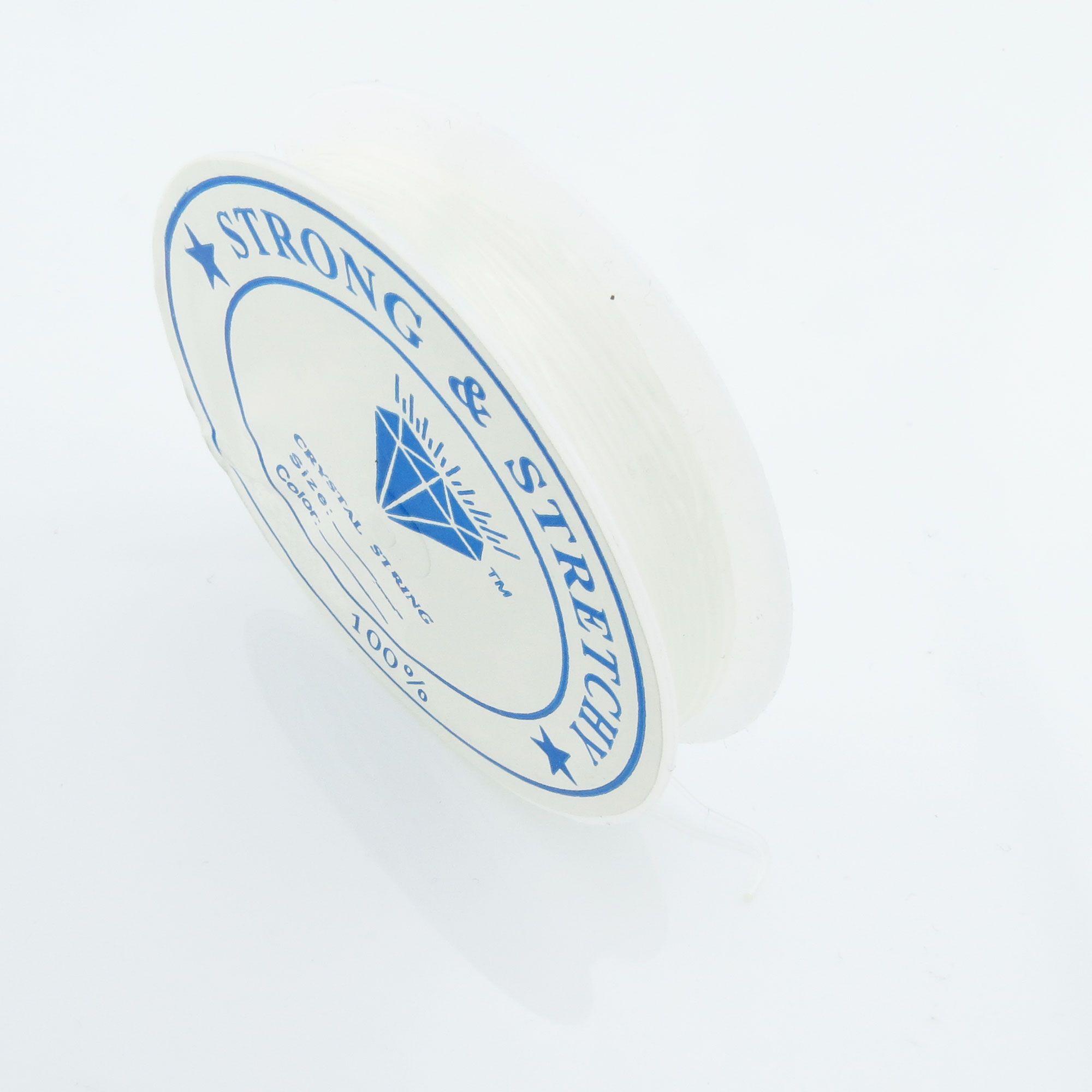 10m Silikon Band 0,6mm (0,23€ pro m) Gummi elastisch Rolle Schnur ...