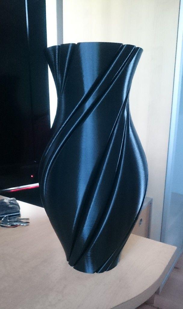 Spiral Vase By Streetfireindustries Thingiverse 3d Printing