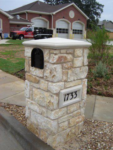 stone mailbox designs. Stone Mailbox Designs | With Address Plaque Mailboxes Pinterest