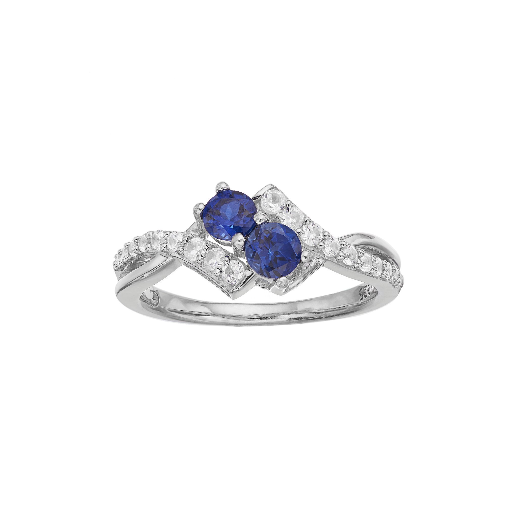 ring created engagement s rings t carat kohl lab w sapphire pin white in diamond and gold