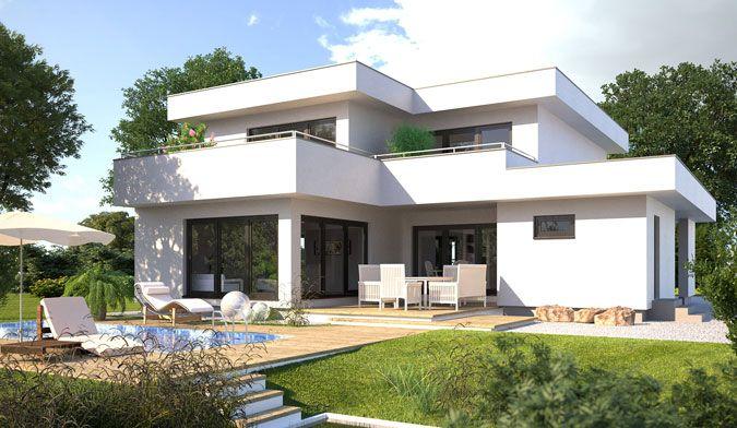 Moderne Hausentwürfe die Lust auf mehr machen Zahlreiche Bauhaus - wohnideen und mehr