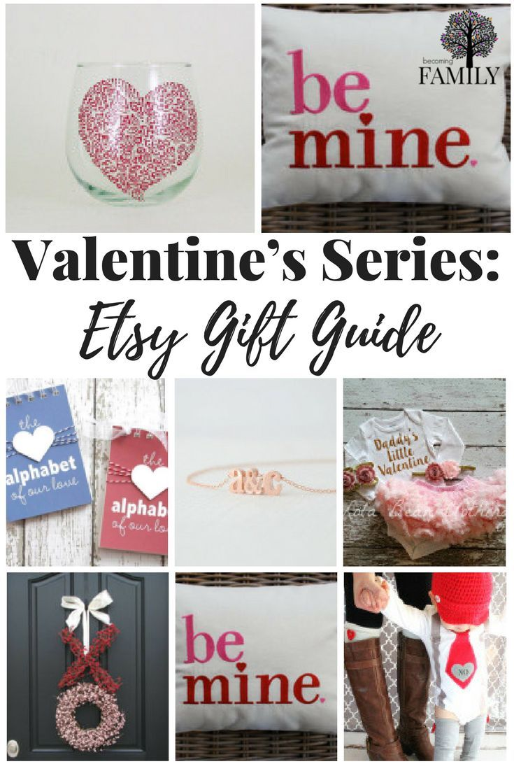 Valentine\'s Series: Etsy Gift Guide | Valentine\'s Day | Pinterest | Gift