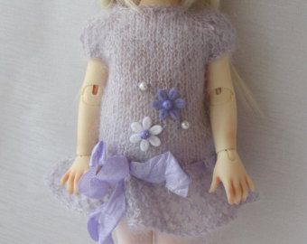 "Hand Knit Doll Outfit Set for Doll 10"" Iplehouse,Fairyland,Rallie Kaye Wiggs"