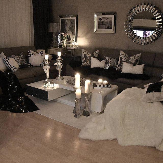 Beautiful living room ideaa pinterest sala de for Decoracion hogar instagram