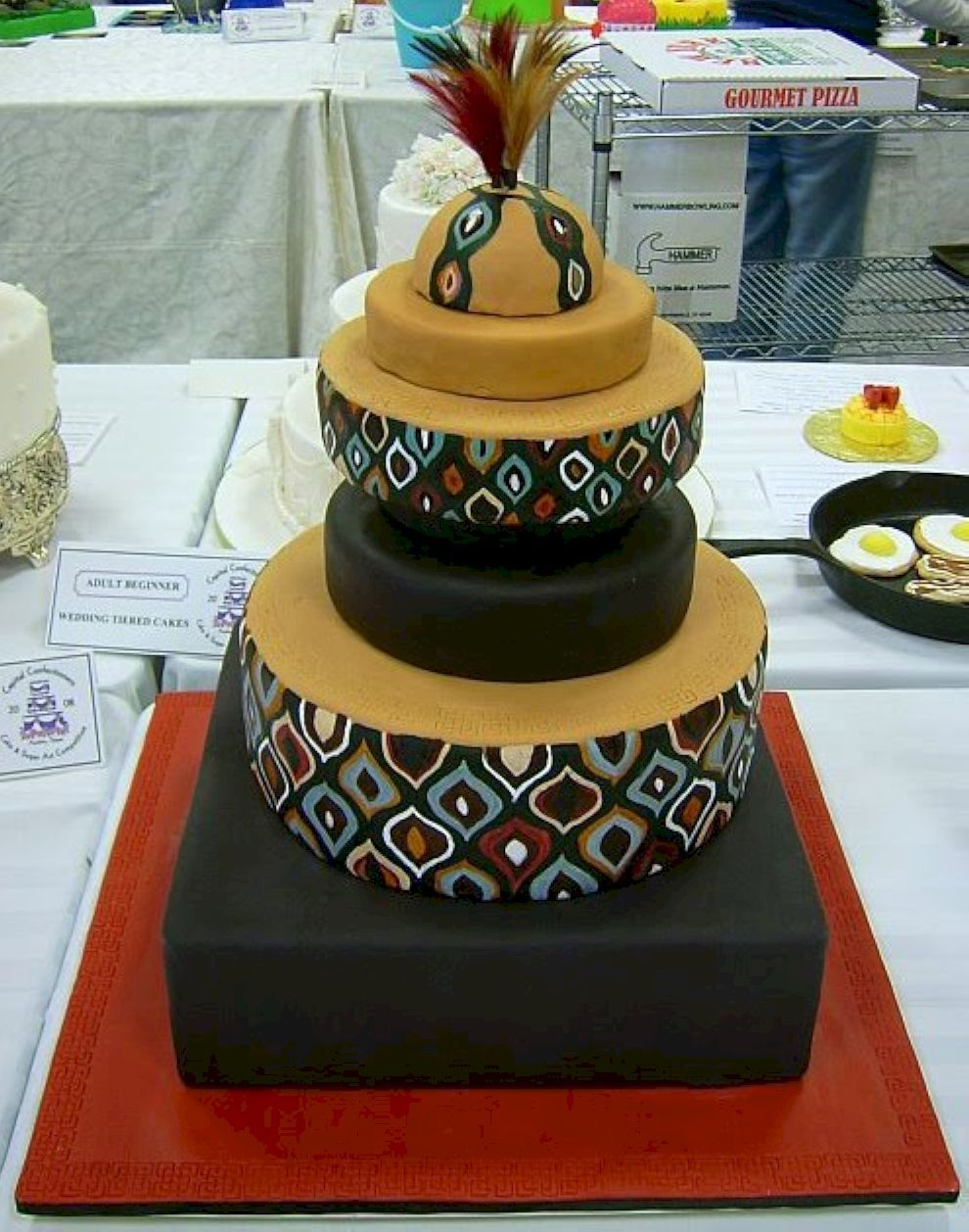 60 Beautiful African Wedding Cake You Will Love for Your