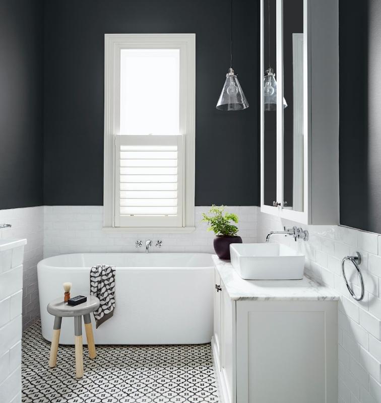 View The Most Popular Grey Paint Colours Schemes Dulux In 2020 White Bathroom Decor Bathroom Color Schemes Bathroom Design