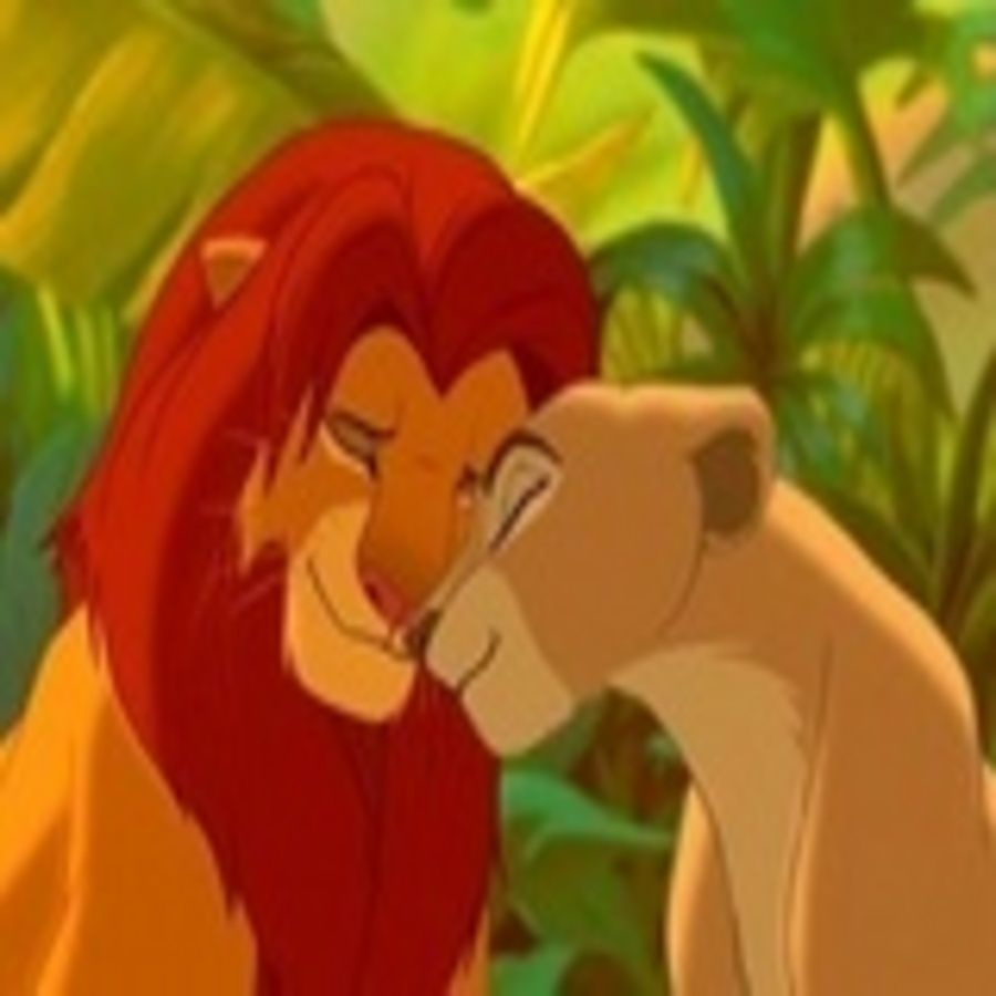day 4  best kiss is nala and simba in the lion king