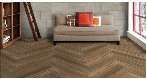herringbone floor pattern
