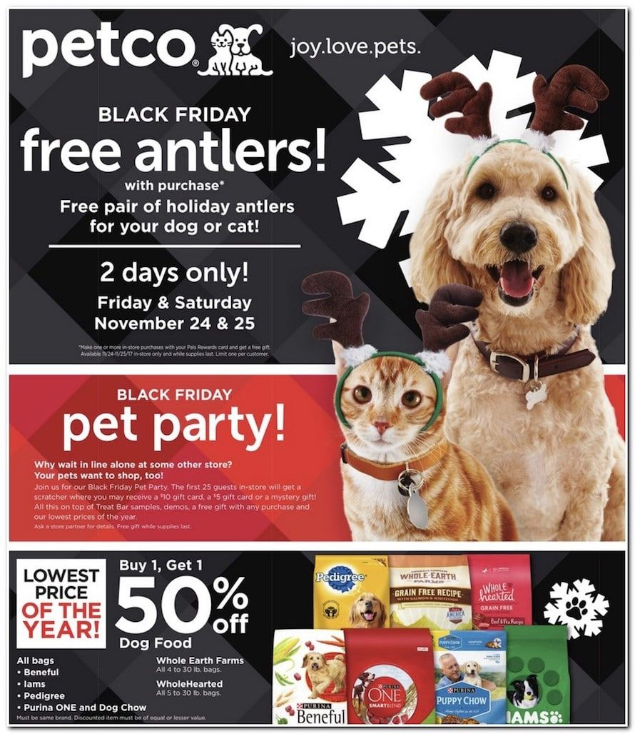 Petco Black Friday Deals 2017 Petco Dog Petco Black Friday