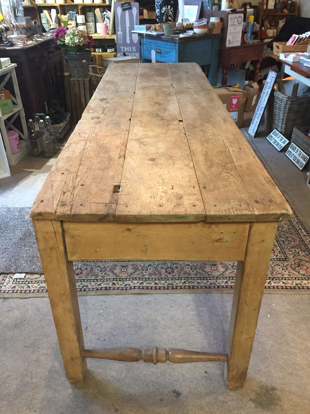 Antique table #upcycling #vintage £350 7ft long #ladida #hampshire - Antique Table #upcycling #vintage £350 7ft Long #ladida #hampshire