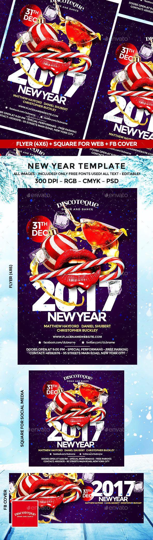 New Year   Cartelitos y Eventos