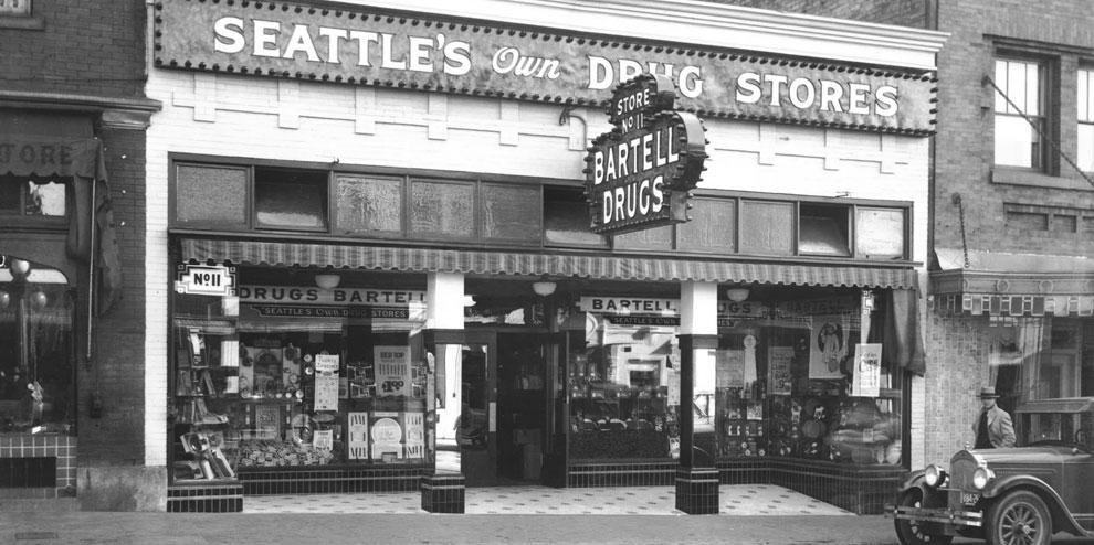 Bartell Drugs. Seattle's own Drugstore/Pharmacy. I had