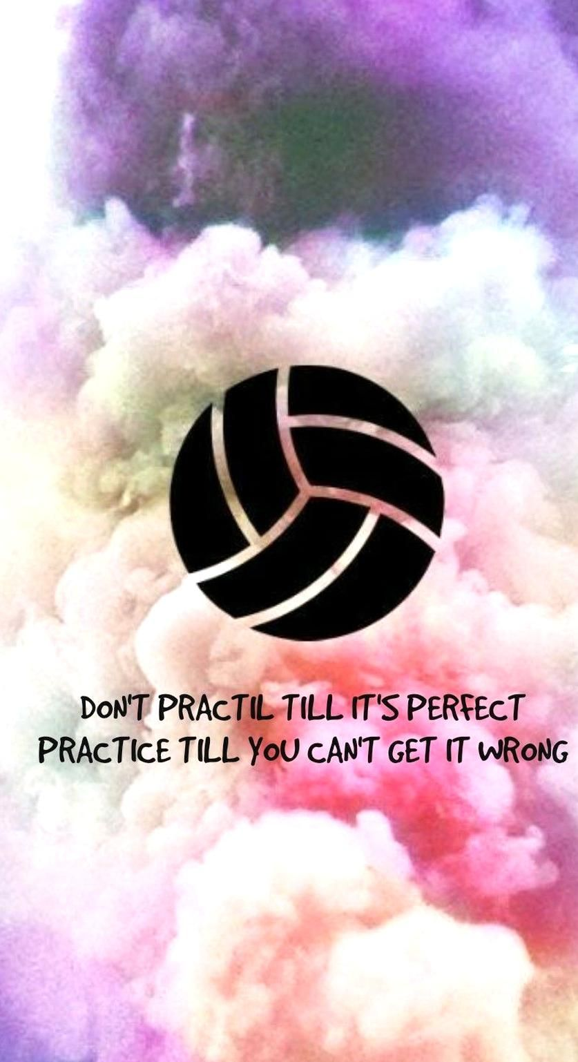 73 Wallpaper Motivation Wallpaper Volleyball Quotes In 2020 Volleyball Backgrounds Volleyball Cool Stuff