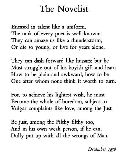 This Wh Auden Writing A Book Poems Words