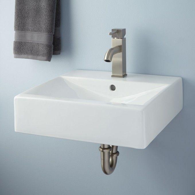 Sprenger Wall Mount Bathroom Sink 151 Single Hole What Kind Of
