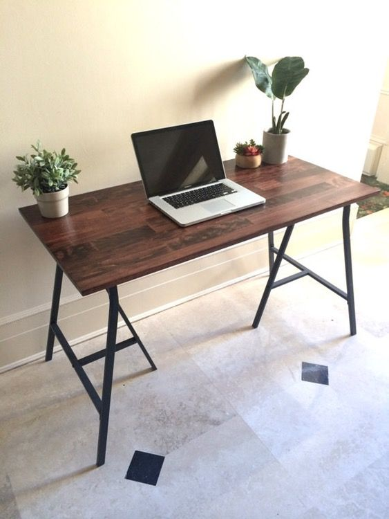 Loading Narrow Desk Table Narrow Desk Ikea Legs