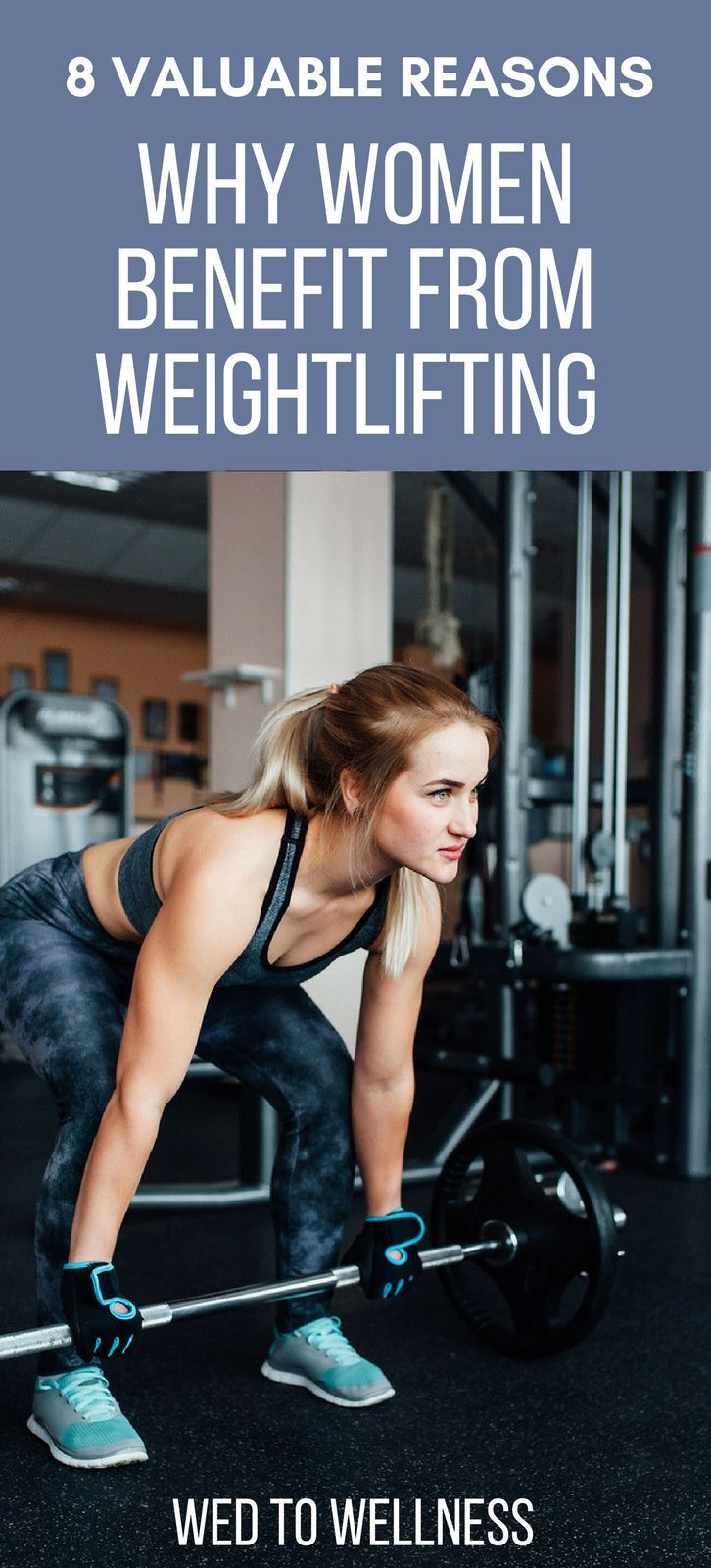 8 Valuable Reasons Why Women Benefit From Weightlifting  #womenwholift #womenshealth #weightlifting...