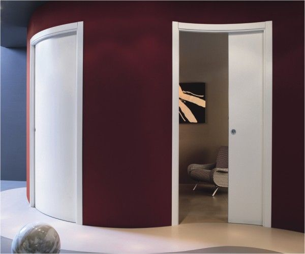 Single Curved Sliding Pocket Door & Single Curved Sliding Pocket Door | House | Pinterest | Pocket doors ...