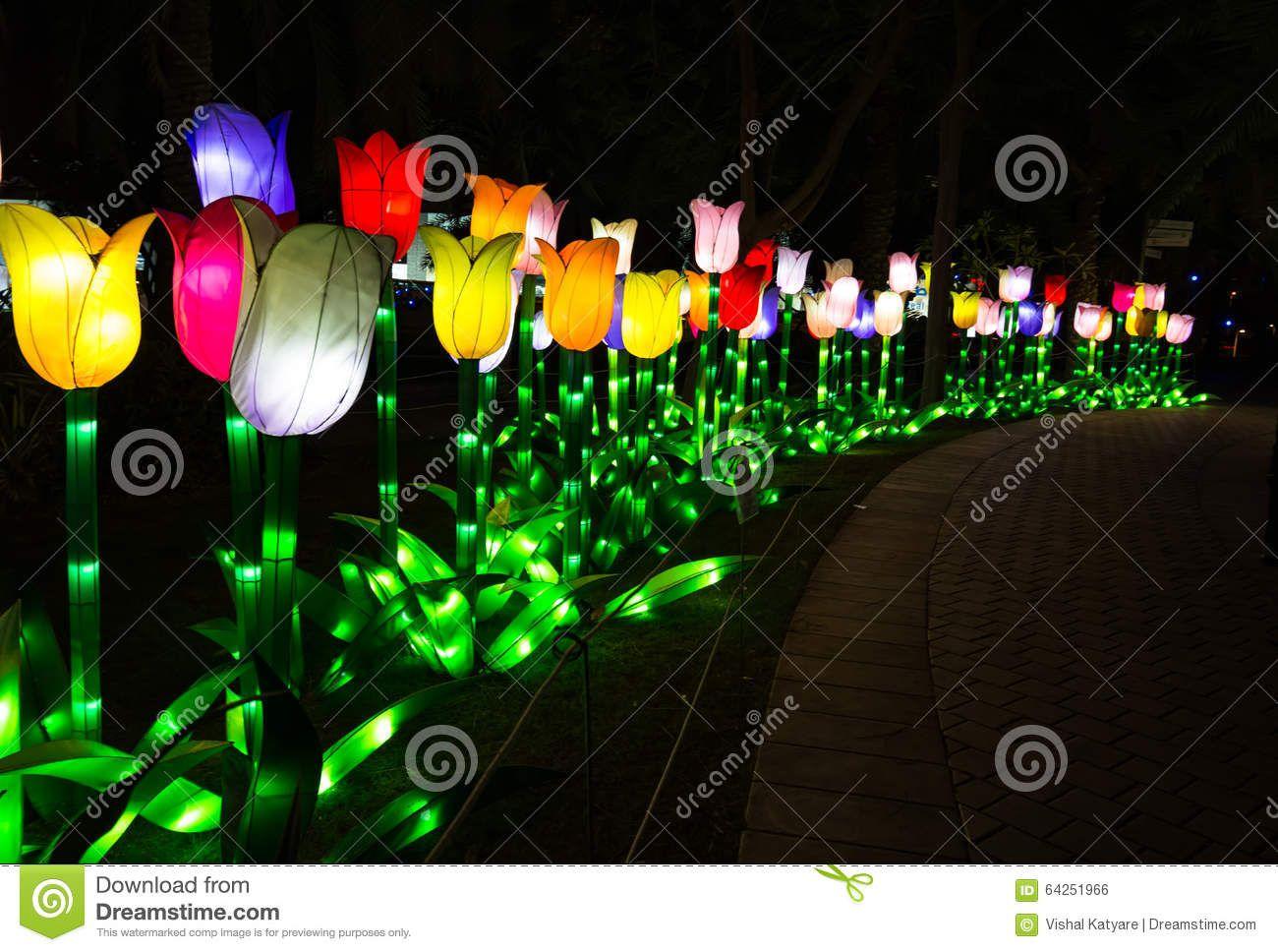Garden Glow Dubai, UAE Editorial Photo Image 64251966