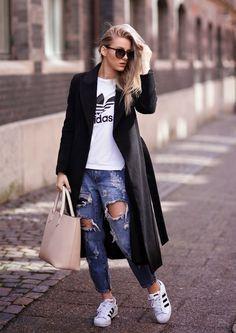 destroyed-jeans-adidas-originals-street-style