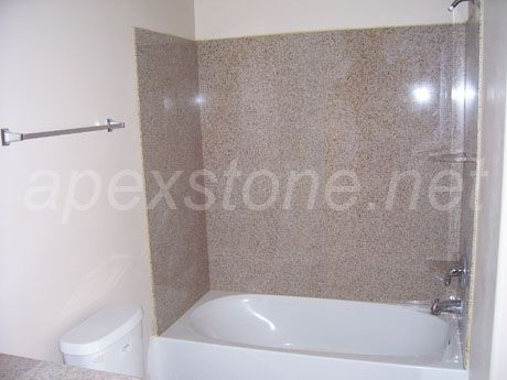Stone/marble/granite/quartz/engineered Artificial Marble For Tub Shower  Surround/Tub Surround / Shower Surround/Bathroom And Shower