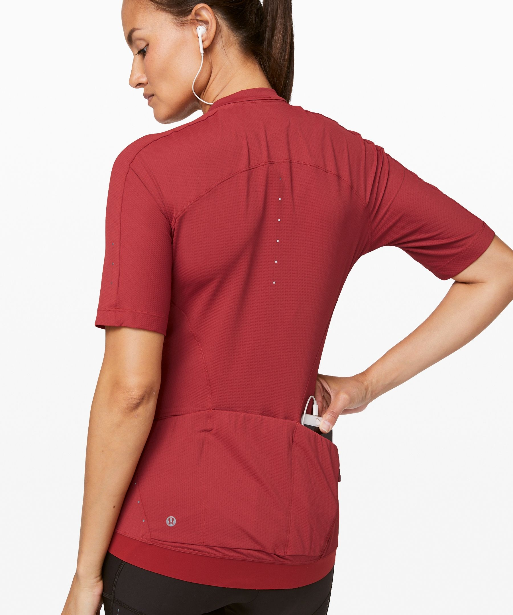 City To Summit Cycling Jersey Ad Aff Summit City Jersey Cycling In 2020 Short Sleeve Tops Women Lululemon Women Windproof Jacket