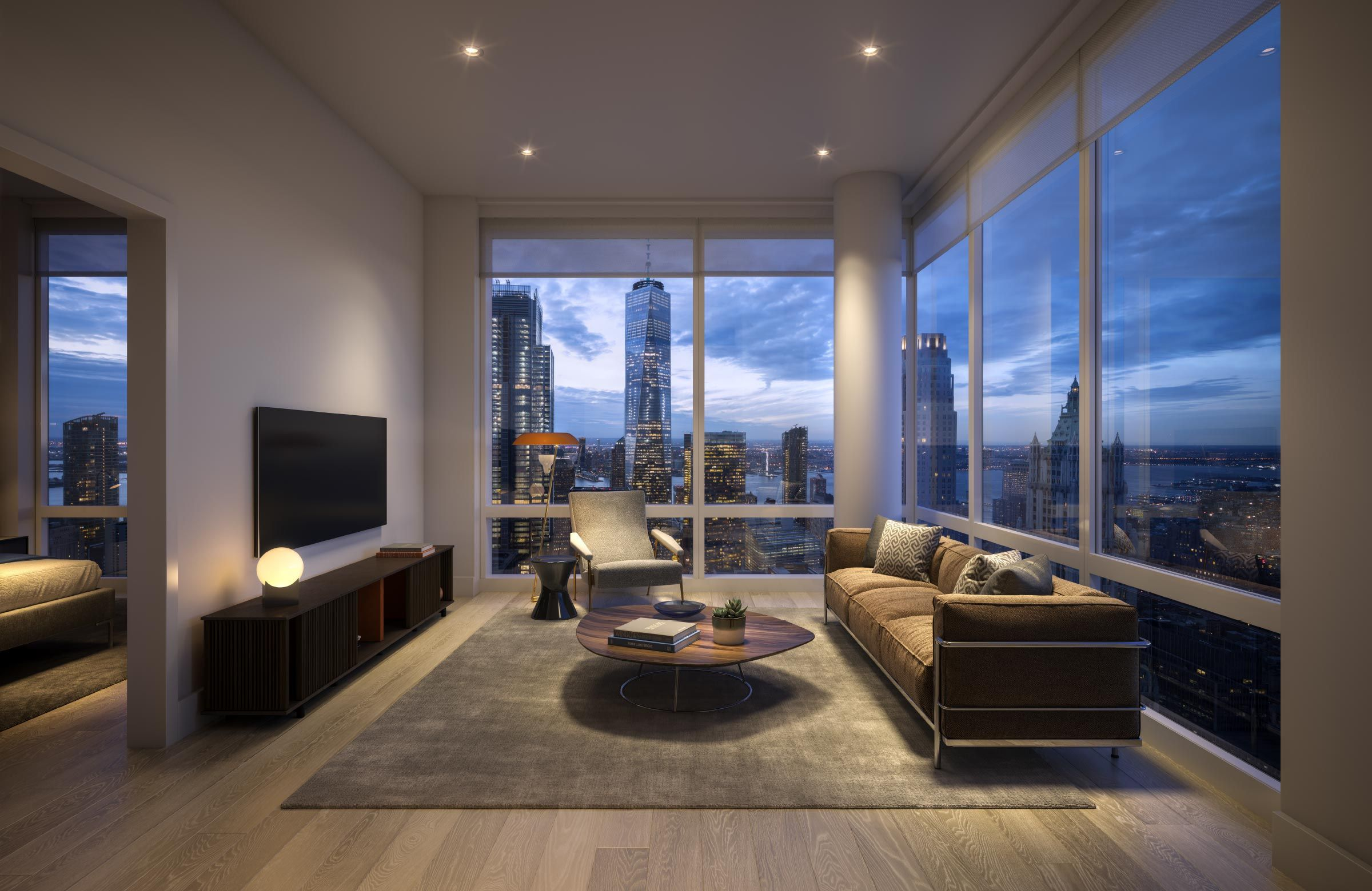 Living Room Luxurious bedrooms, Luxury apartments, Apartment