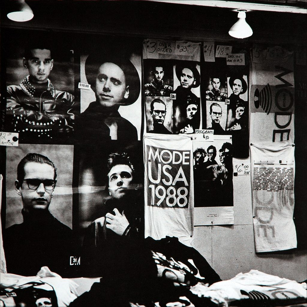 Depeche Mode 101 1989 Record Front Cover I Had That Massive Wall Poster Hanging On My Wall And Ceilin Depeche Mode Depeche Mode Songs Depeche Mode Live