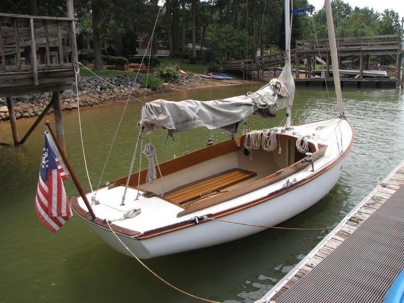 19 6' Cape Dory Typhoon Daysailer • | sailboats | Sailboat