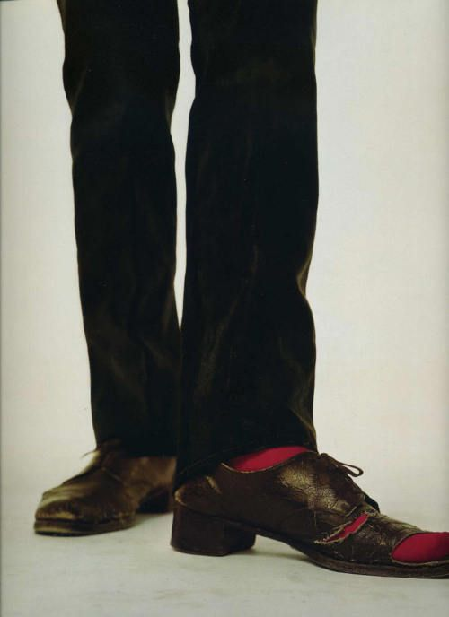 Warhol's shoes by Richard Avedon