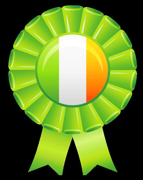 Bandera irlandesa Decoración de imagen PNG