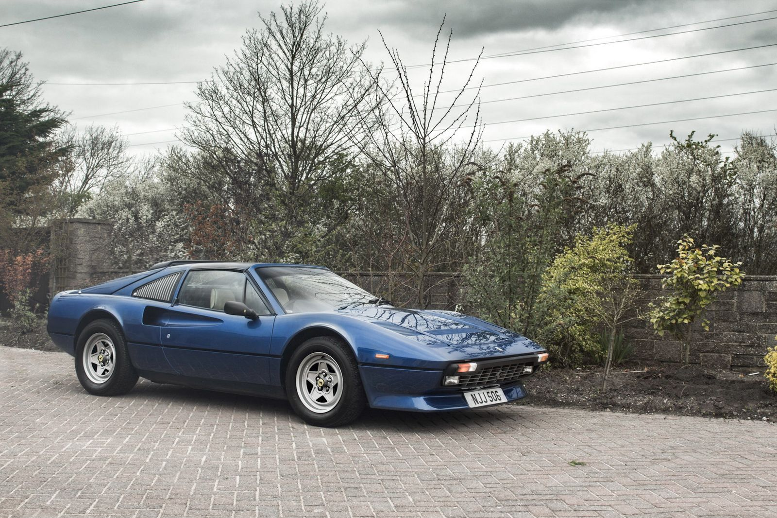 Classic Ferrari 308 Gts Qv With A V12 Swap Heading To Auction Cars