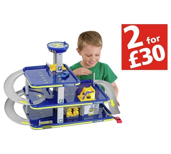 Buy Chad Valley Garage With 3 Cars At Argos Co Uk Your