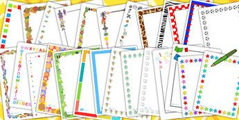 Ks1 page border variety pack writing aid writing template page border variety pack writing aid writing template twinkl spiritdancerdesigns Image collections