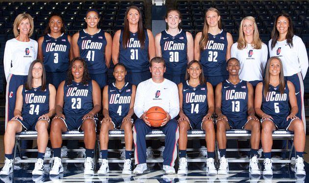 12 13 Wbb Team Jpg 630 374 Pixels Uconn Womens Basketball Womens Basketball Uconn
