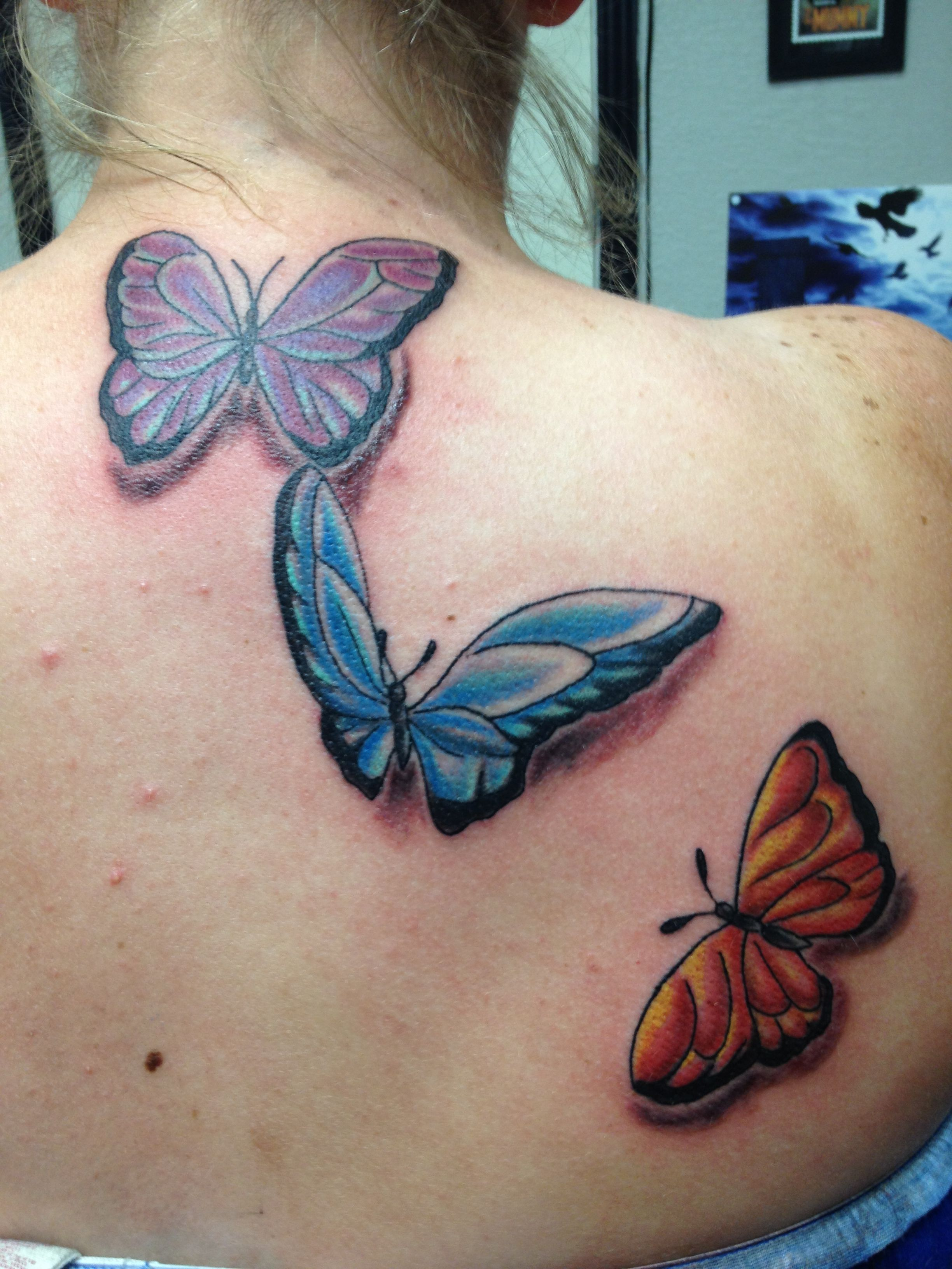 My butterflies watercolor tattoo tattoos my style