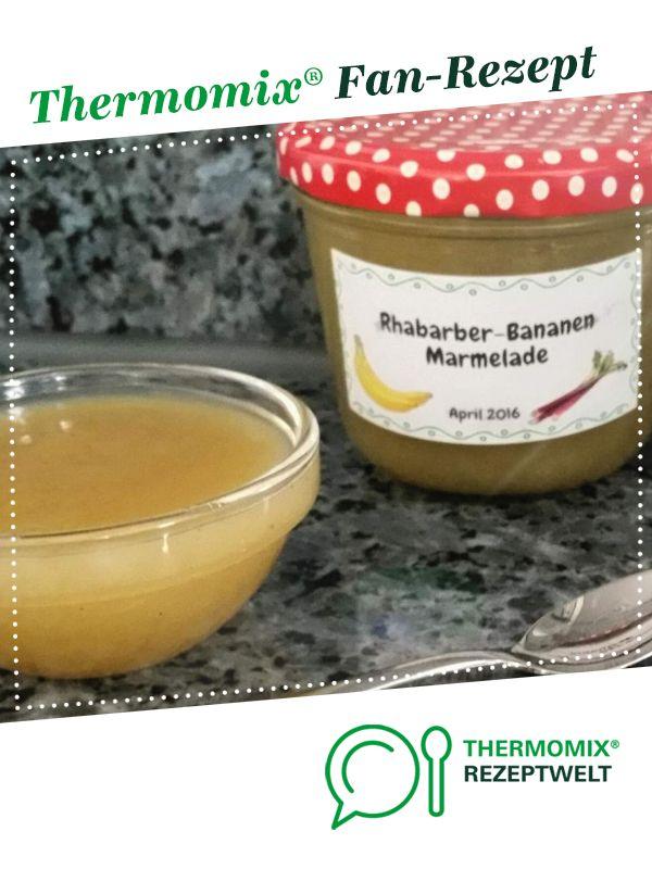 Rhabarber Bananen Marmelade | Rezept | Rhabarber