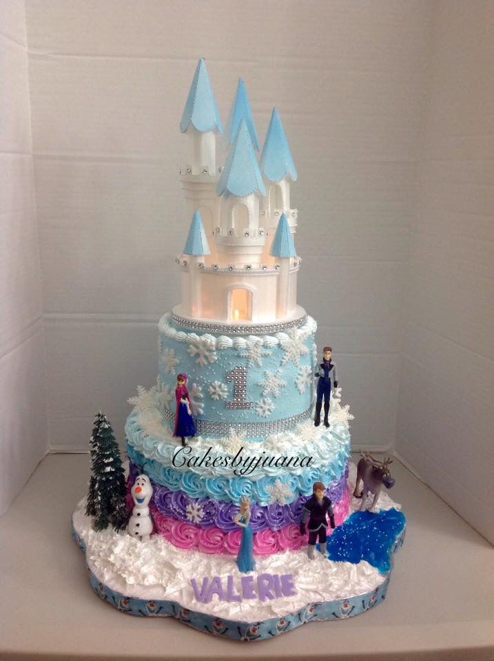My daughter Valeries 1 year old birthday cake Cute fun