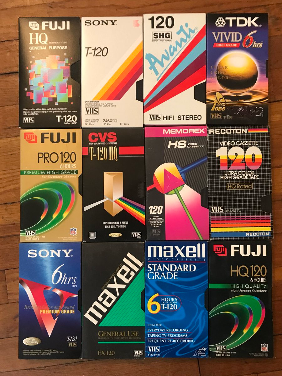 Blank Vhs Cassette Packaging Design Trends A Lost Art Flashbak In 2020 Packaging Design Trends Vhs Cassette 90s Design