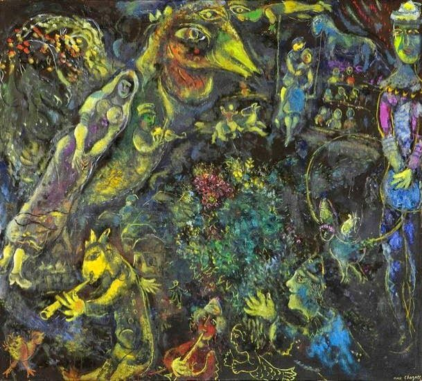 Bestiario, 1968 de Marc Chagall