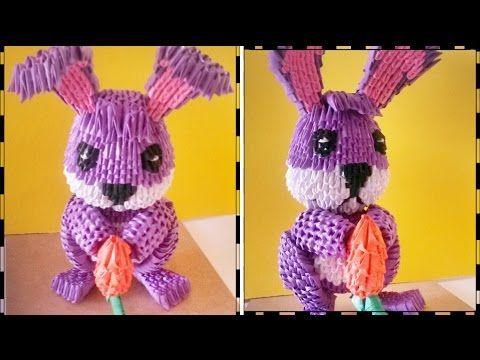 Photo of conejo de origami 3d // tutorial de origami 3d // 3d origami kaninchen