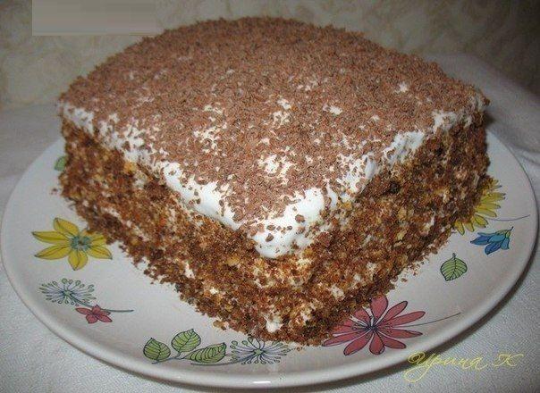 Ну очень вкусный торт