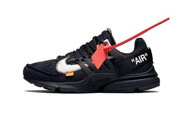 Off white prestos | Nike air presto black, Air presto black