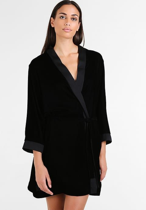 3/4 SLEEVE ROBE - Dressing gown - black | Dressings, Robe and Gowns