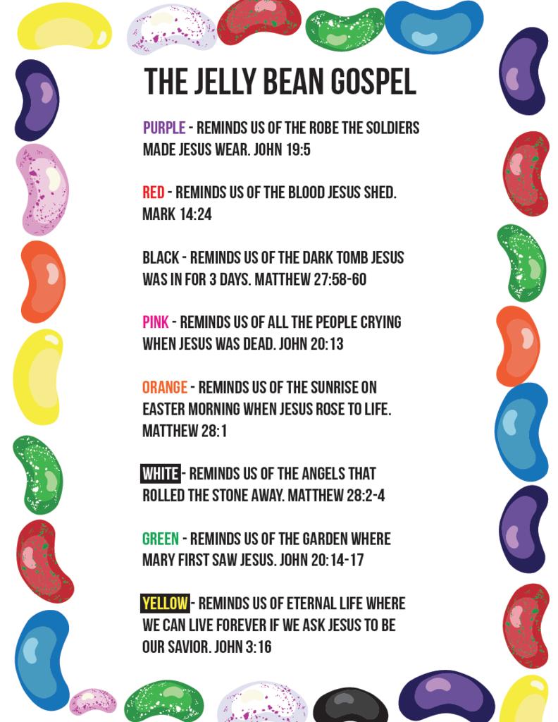 ae92796d37a Jelly Bean Gospel Cards for Kids
