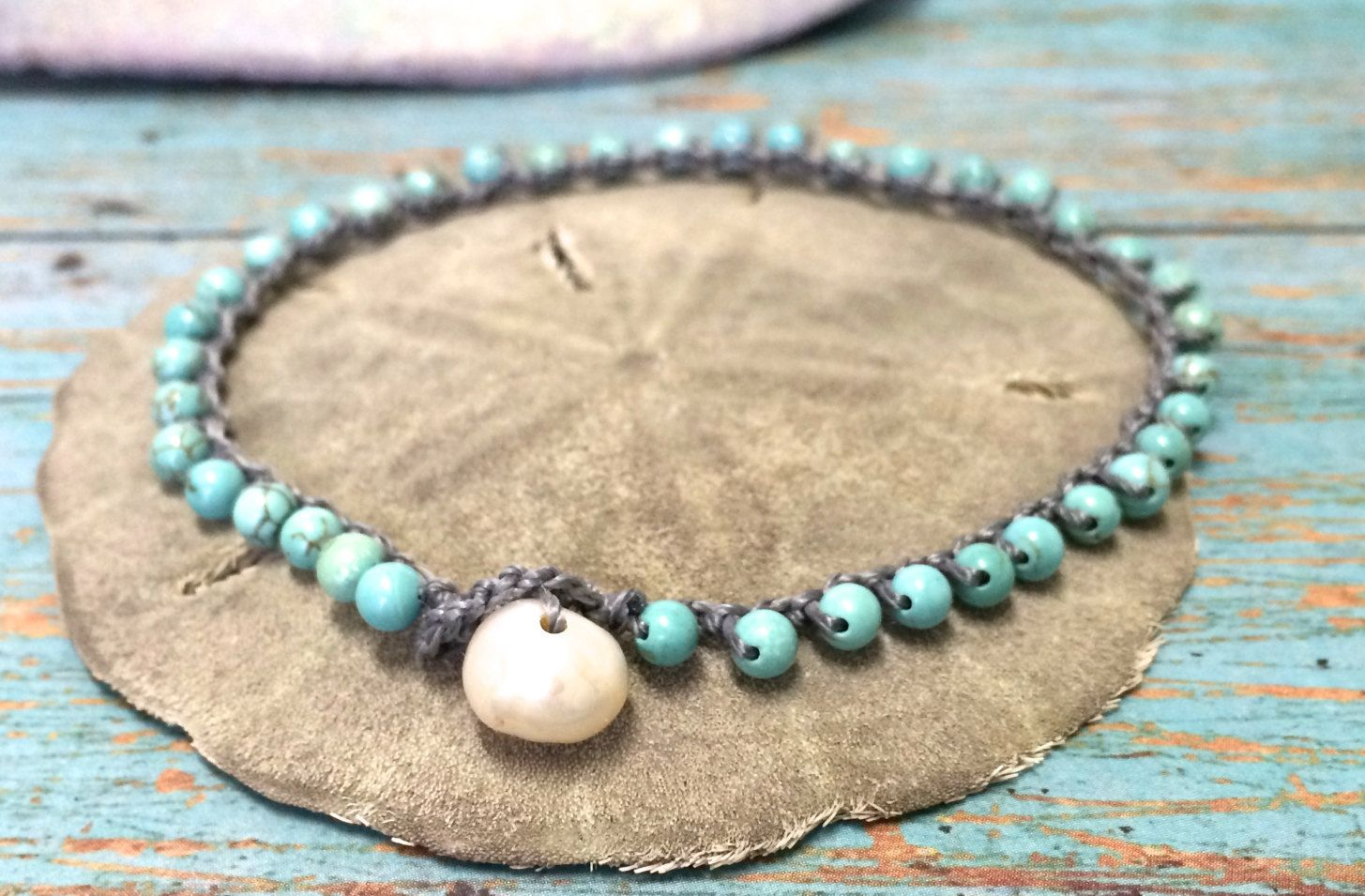 beads bracelet summer women pied anklet ankle de foot anklets product sandals chaine bead bracelets for jewelry turquoise bohemian index boho barefoot