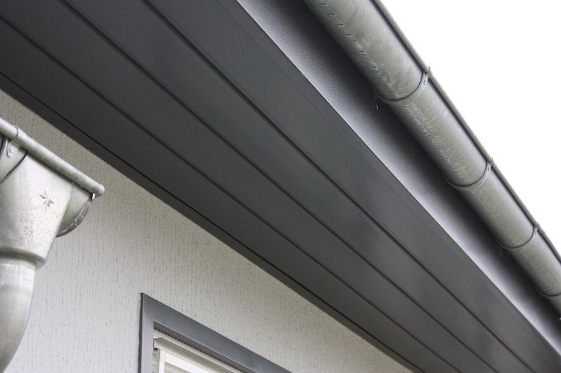Vinylit Dachrandverkleidung Kunststoffpaneele Fassadenverkleidung Vorhangfassade