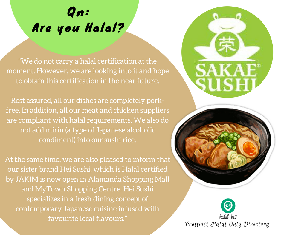 If You Think Finding A Halal Japanese Restaurant In Malaysia To Dine In Is Easy Think Again Always Verify Where Halal Halal Certification Japanese Restaurant