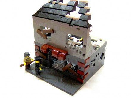 lego ww2 maquette lego pinterest maisons. Black Bedroom Furniture Sets. Home Design Ideas