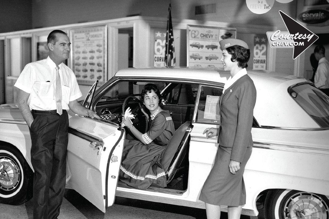 1962 Courtesy Chevrolet Dealership Phoenix Arizona Chevrolet